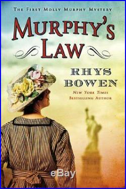 Complete Set Series Lot of 17 Molly Murphy Mystery books by Rhys Bowen Law