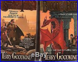 Complete Set Series Lot of 18 Terry Goodkind Books Sword of Truth Confessor