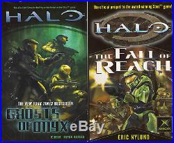 Complete Set Series Lot of 19 Halo Novels (Video Game Tie In Books) Sci Fi