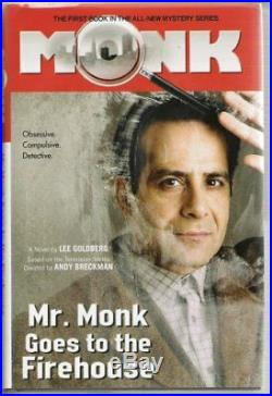 Complete Set Series Lot of 19 Mr. Monk books by Lee Goldberg Detective TV Tie-in