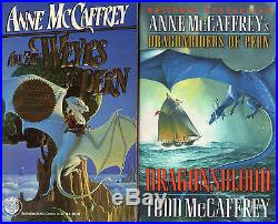 Complete Set Series Lot of 24 Dragonriders Pern books by Todd & Anne McCaffrey
