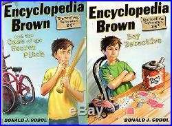 Complete Set Series Lot of 29 Encyclopedia Brown books by Donald Sobol (YA)