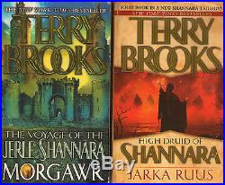 Complete Set Series Lot of 29 Shannara Books by Terry Brooks (Word and Void)