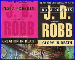 Complete Set Series Lot of 46 In Death Books by J. D. Robb (Nora Roberts)