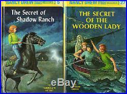 Complete Set Series Lot of First 30 Original Nancy Drew books Carolyn Keene