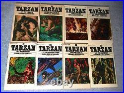 Complete TARZAN 24 Book Ballantine White Cover series by Edgar Rice Burroughs