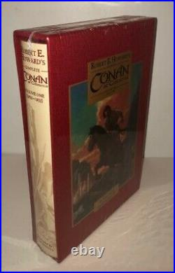 Conan of Cimmeria Vol. 1, signed boxed limited deluxe edition