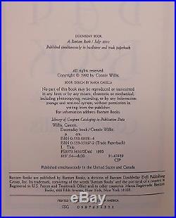 Connis Willis. DOOMSDAY BOOK. 1st HC/DJ. Hugo/Nebula Winner! F/NF. Very Scarce