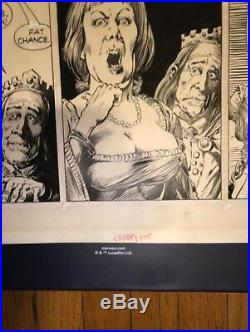 Creepy Comic Book Art Work