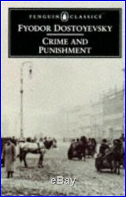 Crime And Punishment (Classics) by Dostoyevsky, Fyodor Paperback Book The Cheap