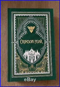 Crimson Peak Book Signed By Guillermo del Toro 199/500 Limited Edition