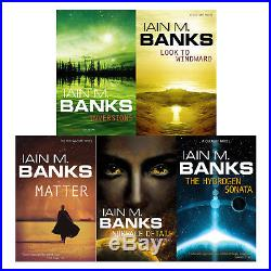 Culture series Collection Iain M Banks 10 Books Set Pack New Paperback