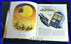 DOCTOR WHO AND THE INVASION FROM SPACE Book 1966 (h/b) novel in annual format
