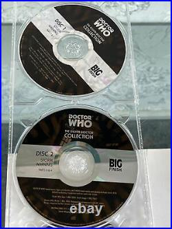 DOCTOR WHO BIG FINISH AUDIO CD Boxsets 8th Dr Collection PAUL McGANN 9 Disc RARE