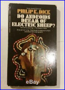 DO ANDROIDS DREAM OF ELECTRIC SHEEP PHILIP k. DICK'69 SIGNET 1STPB blade runner