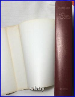 DUNE Frank Hebert 1965 HCDJ BCE Hardcover Dust Jacket Book Club CLEAN
