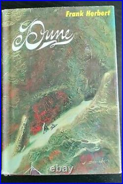 DUNE by Frank Herbert (1965) First Chilton Book Club Edition With Dust Jacket