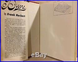 DUNE by Frank Herbert 1st Book Club Edition US Print 1965