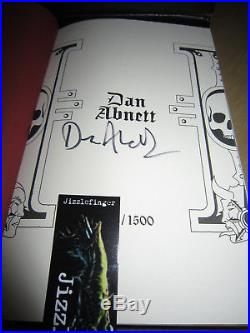 Dan Abnett THE MAGOS Signed/Limited Edition MINT Warhammer 40K Eisenhorn Book 4