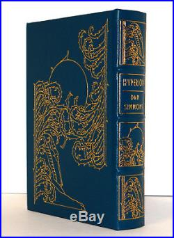 Dan Simmons, HYPERION, Book 1, Easton Press Masterpieces of Science Fiction 1993