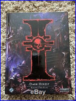 Dark Heresy 2nd Edition Core Book Very Rare Rpg Fantasy Flight 40k Inquisitor