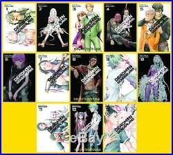 Deadman Wonderland Series Set English Manga Collection Books 1-13 BRAND NEW