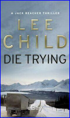 Die Trying (Jack Reacher 2) by Lee Child Book The Cheap Fast Free Post
