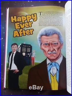 Doctor Dr. Who Fannual Peter Cushing Dalek Movies Purple Cover Colour Hardbook
