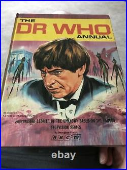 Doctor Who Annual 1968 BBC World Distributors Unclipped Rare