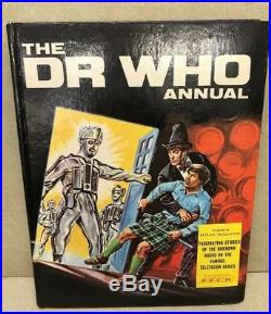 Doctor Who Annual 1969 Patrick Troughton Cover Very Rare