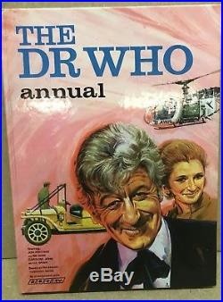 Doctor Who Annual 1971 (pub. 1970) Jon Pertwee