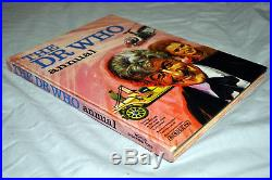 Doctor Who Annual 1971 (pub. 1970) Pink 1st Jon Pertwee STUNNING EXAMPLE
