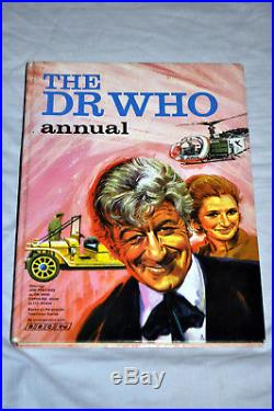 Doctor Who Annual 1971 (pub. 1970) Pinl 1st Jon Pertwee STUNNING EXAMPLE