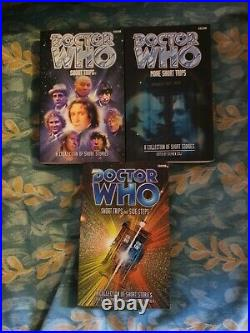 Doctor Who BBC Books Complete 8th Doctor, PDA's Bundle & Short Trips 1-3