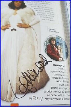 Doctor Who Character Encyclopedia Signed by over 80 actor Genuine