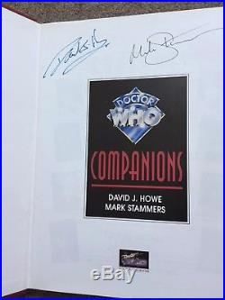 Doctor Who Companions Book Signed By Tom Baker + Over 20 Others K9 Dalek TARDIS