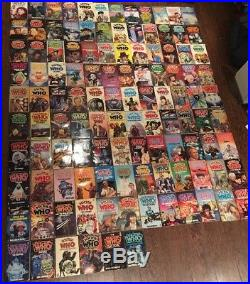 Doctor Who Giant Book Lot Paperback Over 100 Vintage Target Editions Dr Who