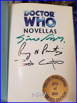 Doctor Who Shell Shock, deluxe edition, 2003 Telos novellas hardback book