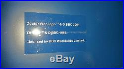 Doctor Who Tardis Wardrobe Next Rare Custom Made in2 book case books inc