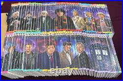 Doctor Who The Complete History All 90 Volumes Free P&P