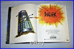 Doctor Who The Dalek Book (pub 1964) EXCELLENT CONDITION! L@@K! Free UK postage