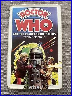 Doctor Who The Planet of the Daleks 1976 Allan Wingate Hardback Ex Library Rare