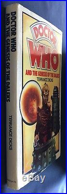 Doctor Who and the Genesis Of The Daleks Wingate 1st Ed hardback hardcover