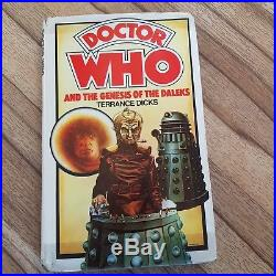 Doctor Who and the Genesis of the Daleks Allan WINGATE Hardback 1977 REPRINT
