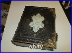 Doctor who history of the time war book fan made prop replica old family bible