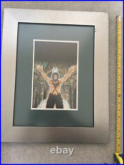Dr Doctor Who ORIGINAL Target Artwork The Daemons painted By Andrew Skilleter