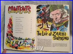 Dr WHO Annual 1966 William Hartnell Zarbi, Menoptra, Tardis Excellent