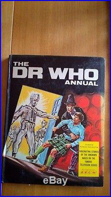 Dr Who Annual 1968 Patrick Troughton Rare & VGC