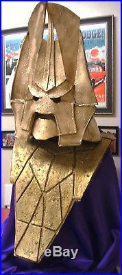 Dr Who Prop Monster Model Omega Helmet Mask + Chest Armour Full Size
