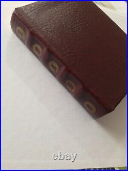 Dr Who Prop Replica Custom Book Worshipful And Ancient Law Of Gallifrey Cosplay
